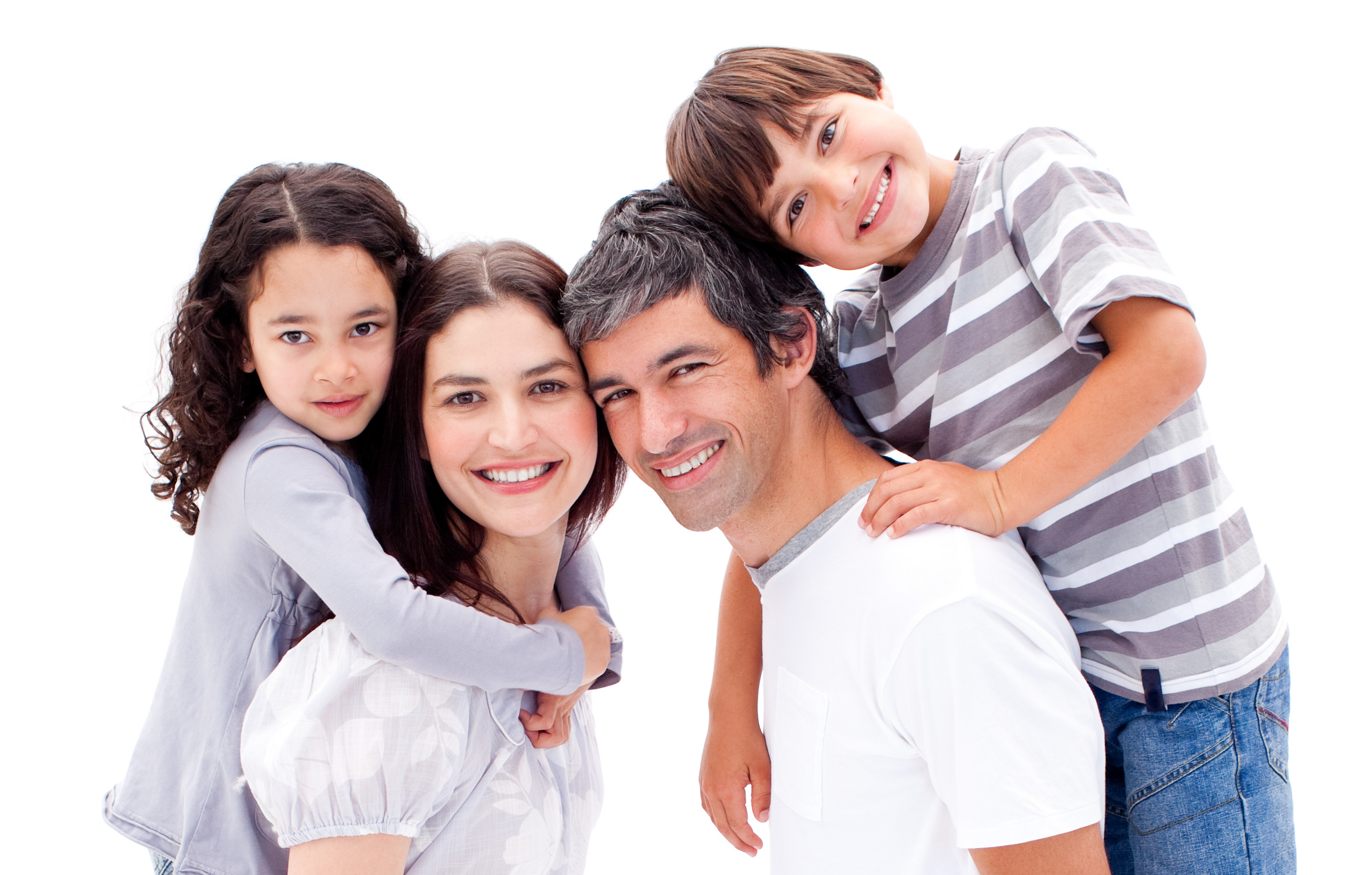 How does a family adjust their level of life insurance?